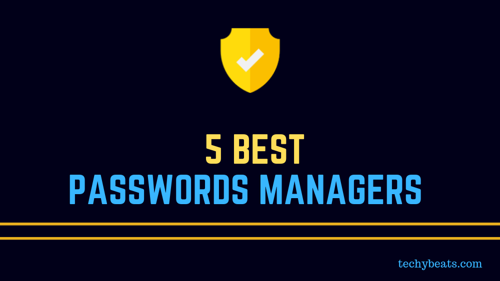 best passwords managers to keep your data secure
